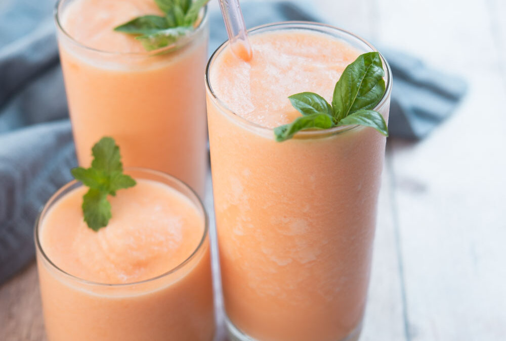 Summer Cantaloupe Smoothie
